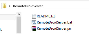 use android as mouse and keyboard - files