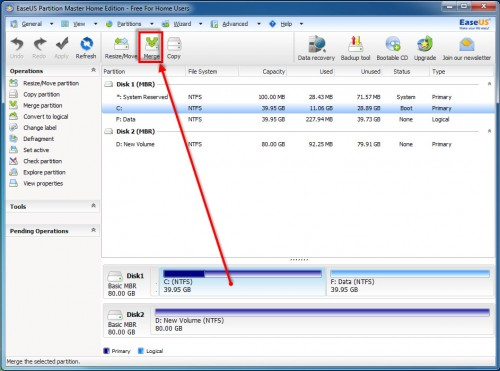 EaseUS Partition Master Home Edition - 12