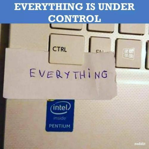 everything under control